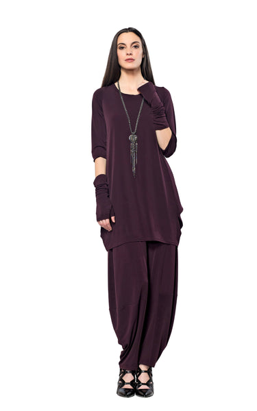 Tunic Dress - 3/4 Sleeve Tunic - Code Vitesse