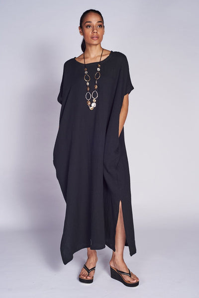 Ibiza Smock Dress with pockets 100% cotton - Code Vitesse