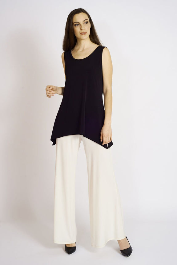 Slim Side Slit Tank (long) - Code Vitesse