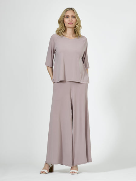 Wide Leg Pant - Oyster - Code Vitesse