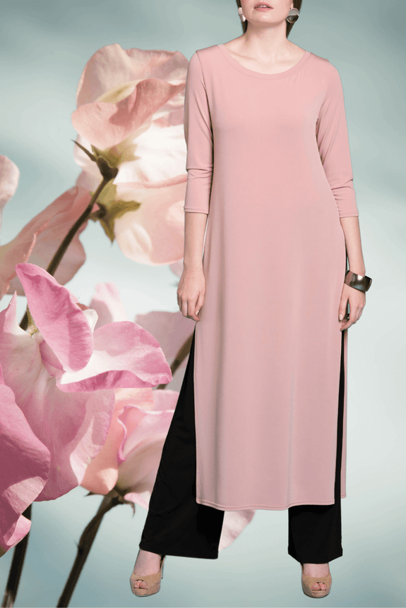 Dress Over Pant  Rose - Code Vitesse