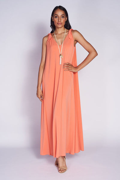 Palm Springs Dress #PLM-5030 Coral