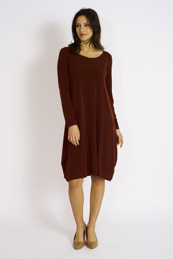 Anywear Dress #ANY-5020 Bordeaux