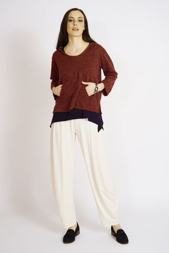 Ashmore Sweater Knit Bay Side Hoodie - Code Vitesse
