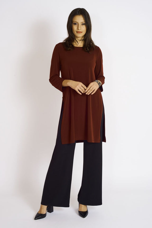Dharma High slit Tunic - Code Vitesse