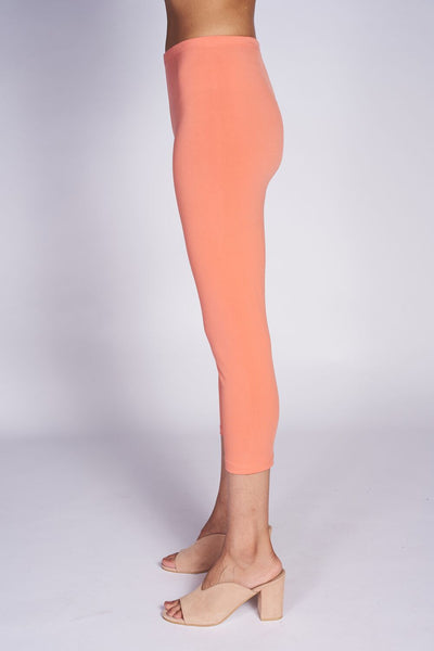 Crop Tight #TCR-3005 Coral - Code Vitesse