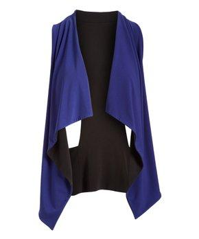 Reversible Vest- Royal / Black - Code Vitesse