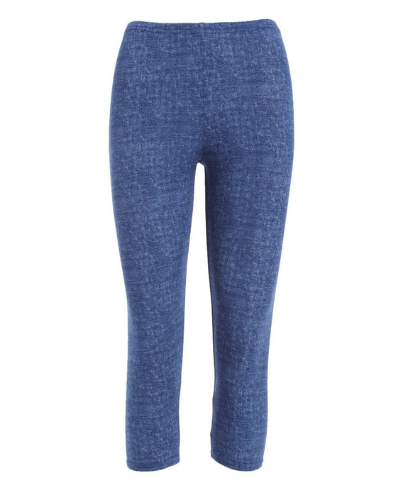 Crop Tights Denim - Code Vitesse