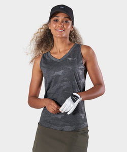Grey Camo Performance Tank