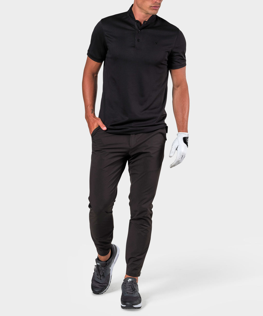Black Tour Polo Shirt