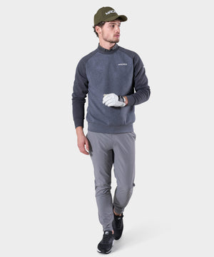 Grey Tech Fleece Crew
