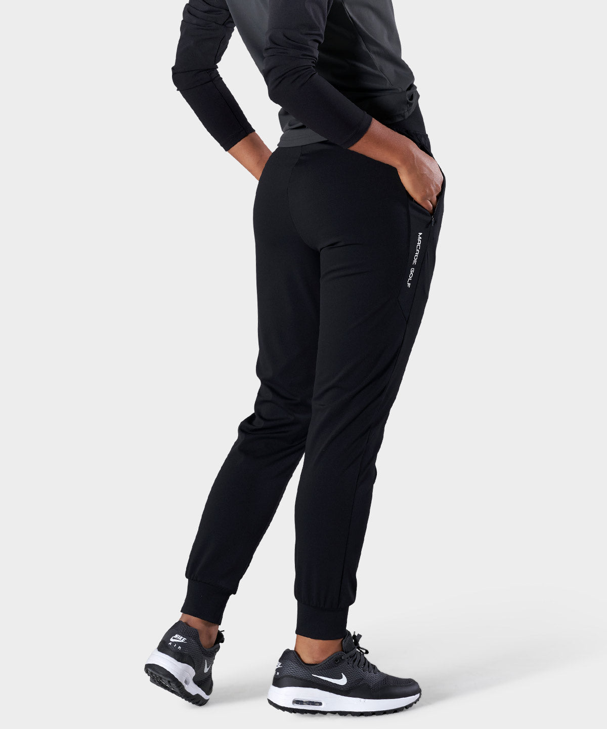 Black Tapered Range Pants