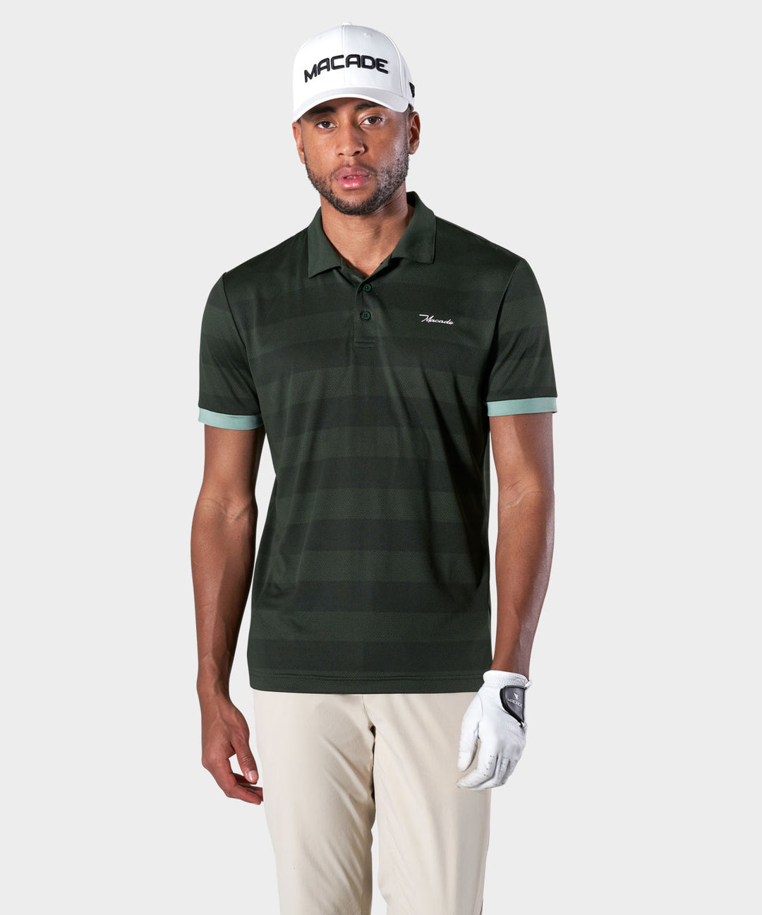Green Tour Tech Polo Shirt