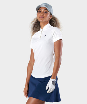 White Tour Polo Shirt