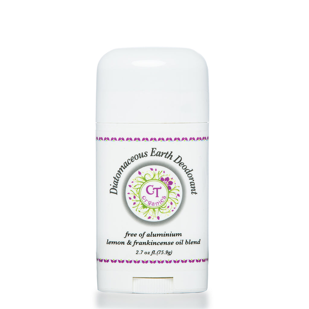 Diatomaceous Earth Charcoal Deodorant