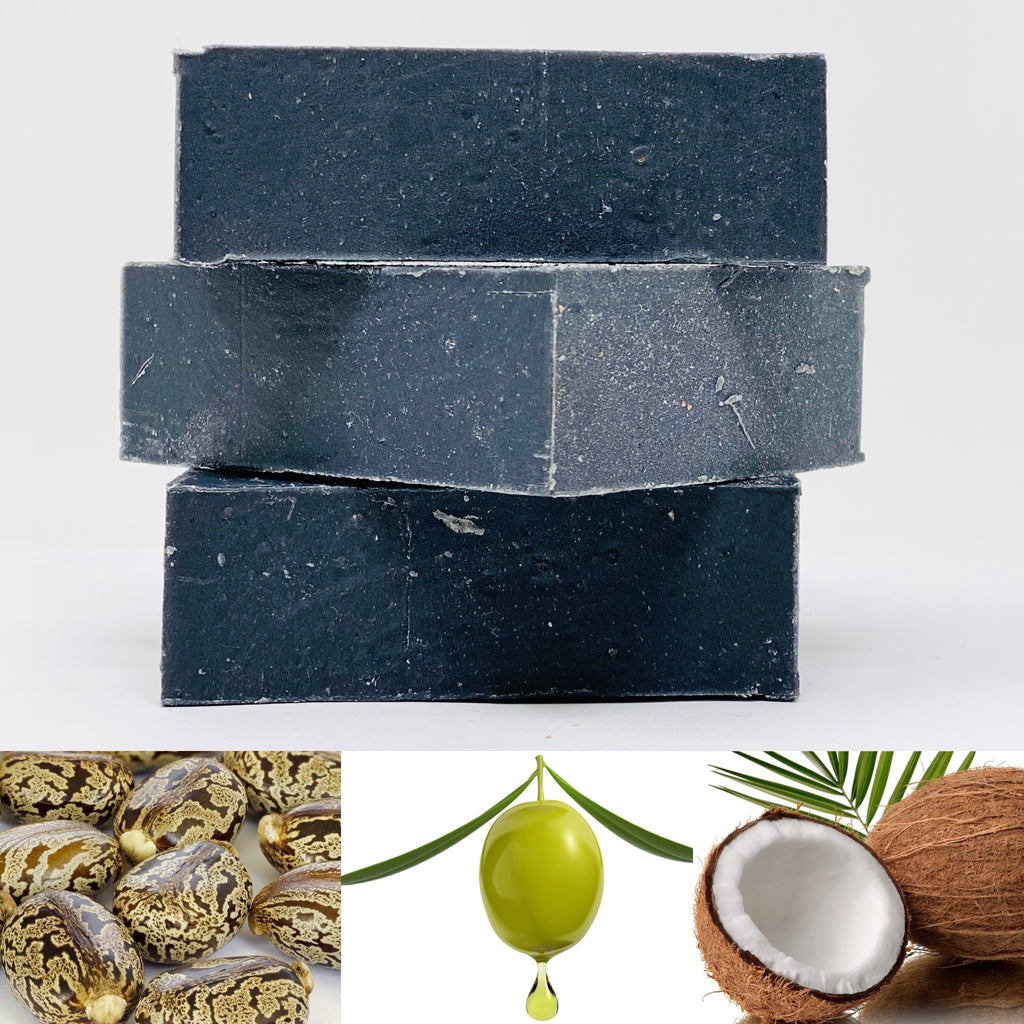 2% Zinc Pyrithione Charcoal Soap for Dandruff