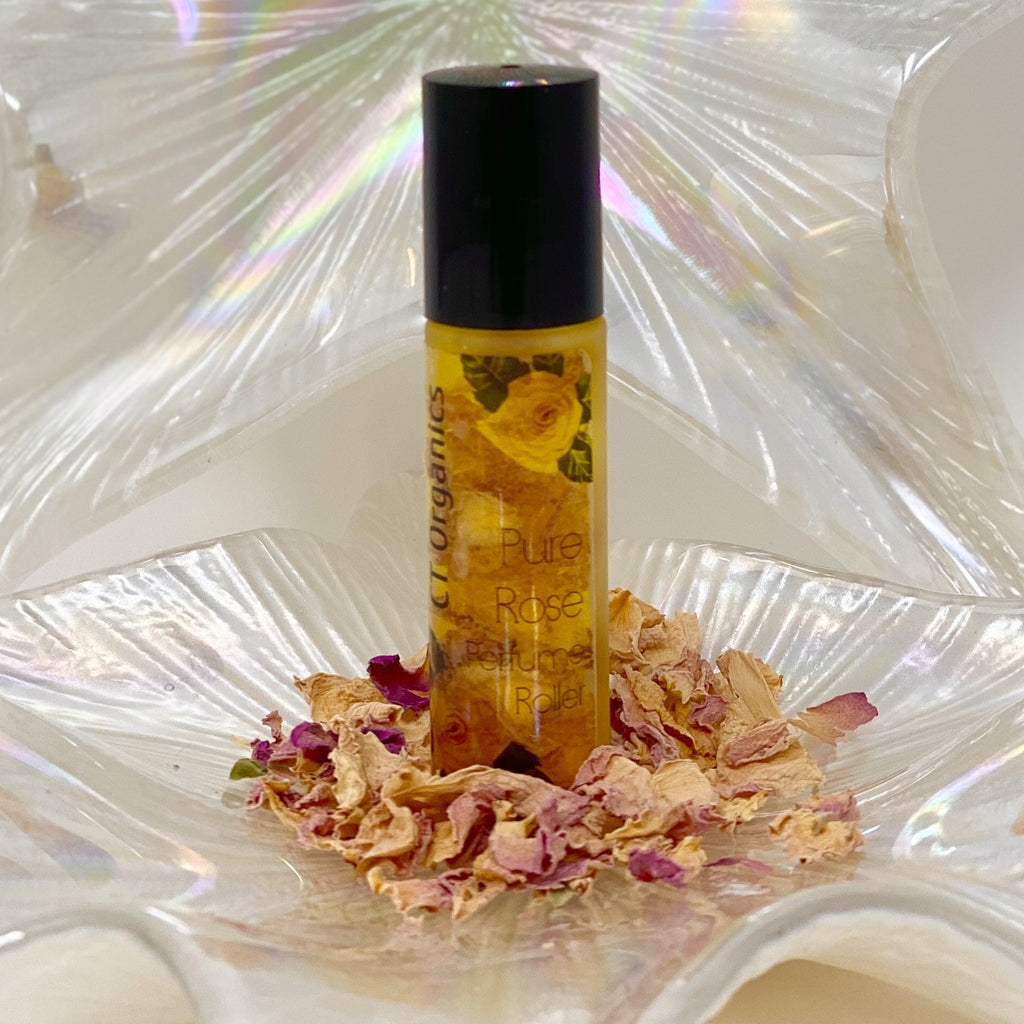 Pure Rose Oil Perfume Roller