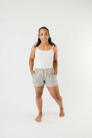 24/7 Shorts In Heather Gray