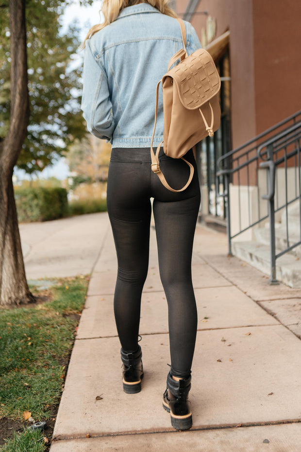 Leg Up Black Leggings