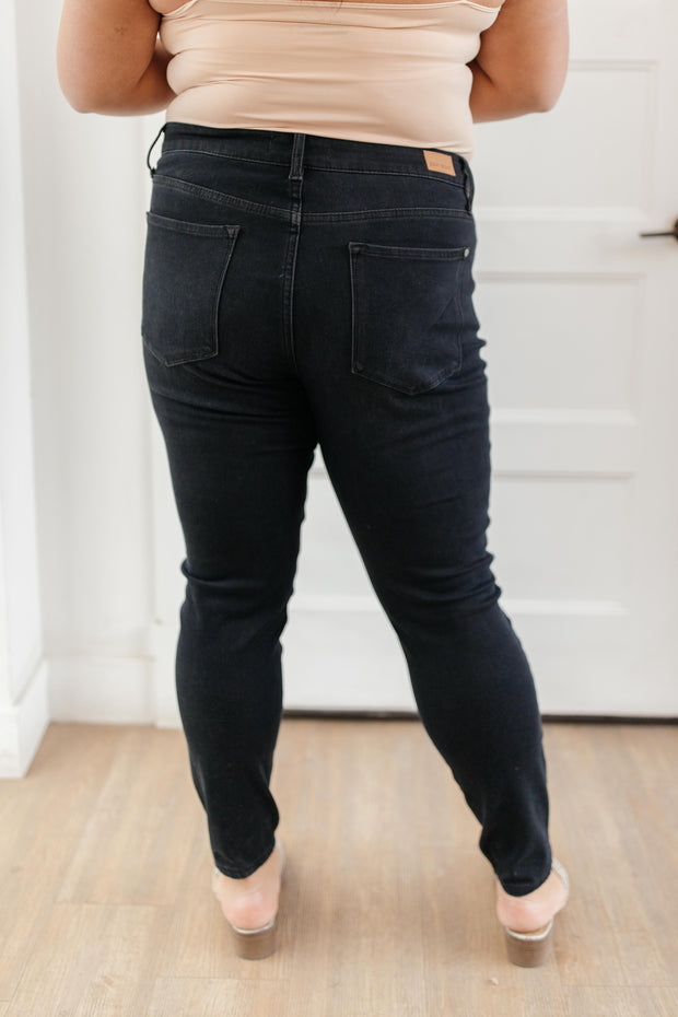 Judy Blue Ready For The Weather Black Jeans