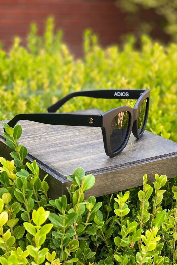 American Bonfire Adios Sunglasses in Black