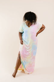 Crossing Over Tie Dye Maxi