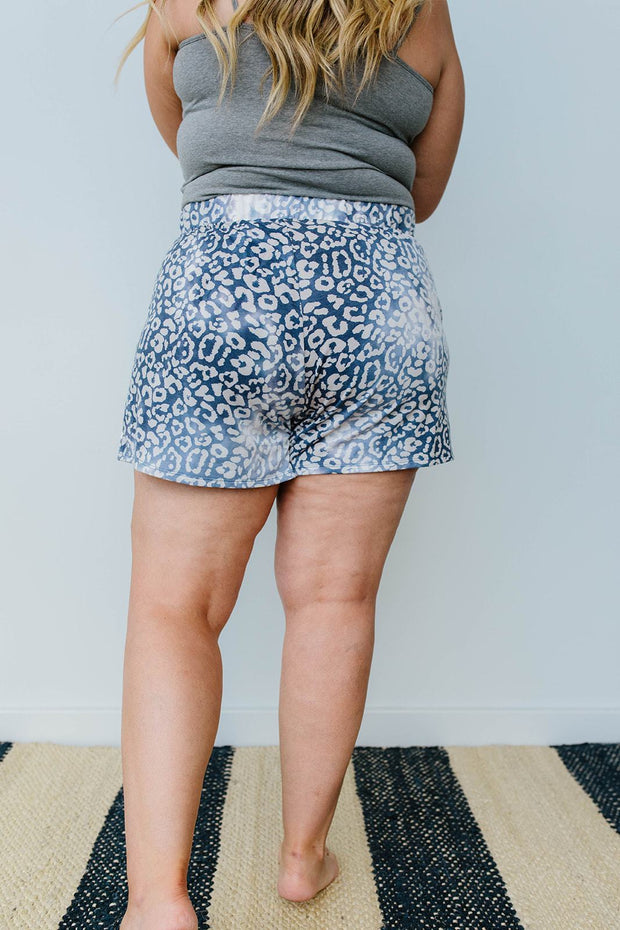 Faded Navy Shorts