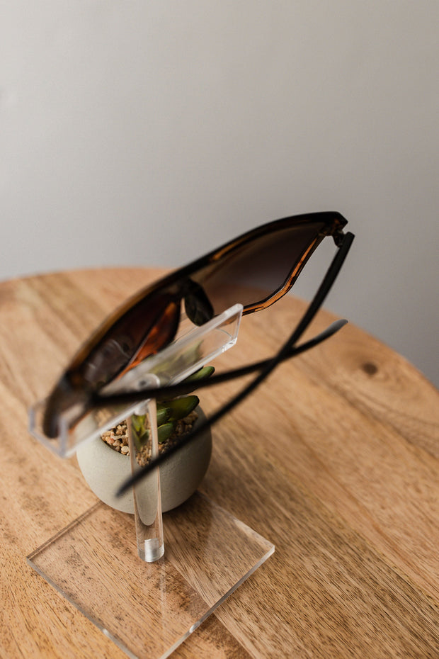 American Bonfire Ignite Sunglasses in Black/Tortoise