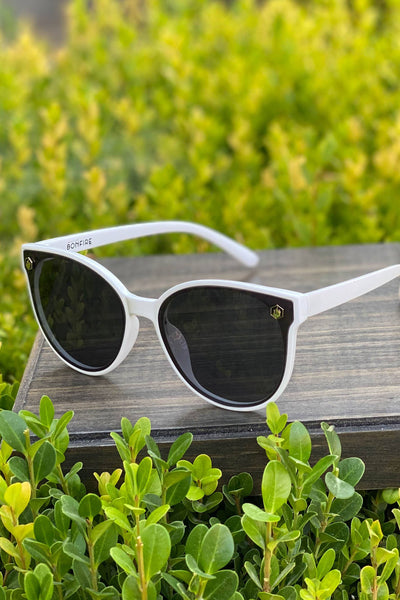 American Bonfire Rockstar Sunglasses in White