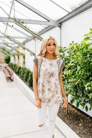 Tame The Beast Tie Dye Top