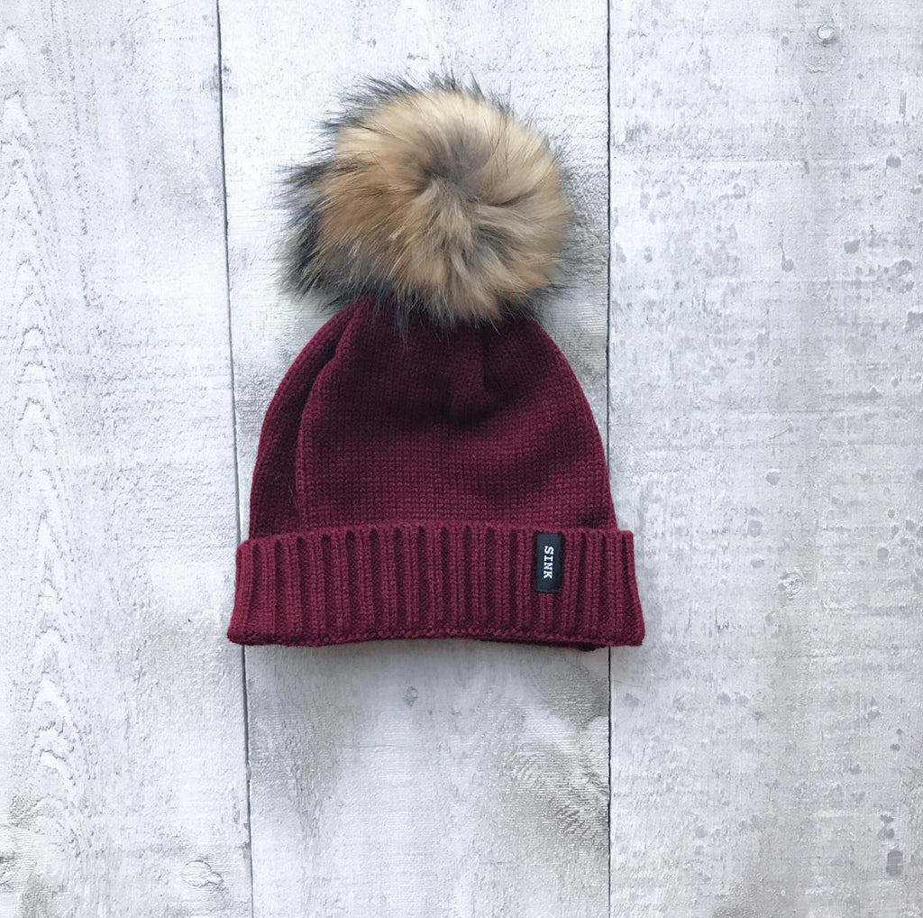 Banff Hat - Burgundy