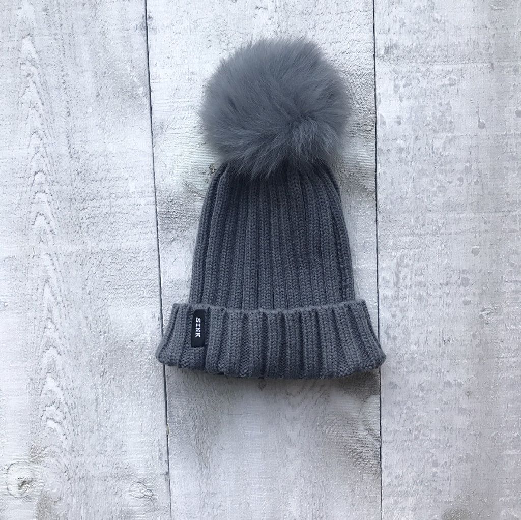 Alta Hat - Dark Grey