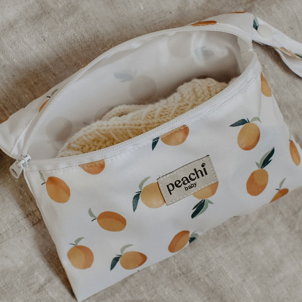 Clementine Reusable Nappy Bag