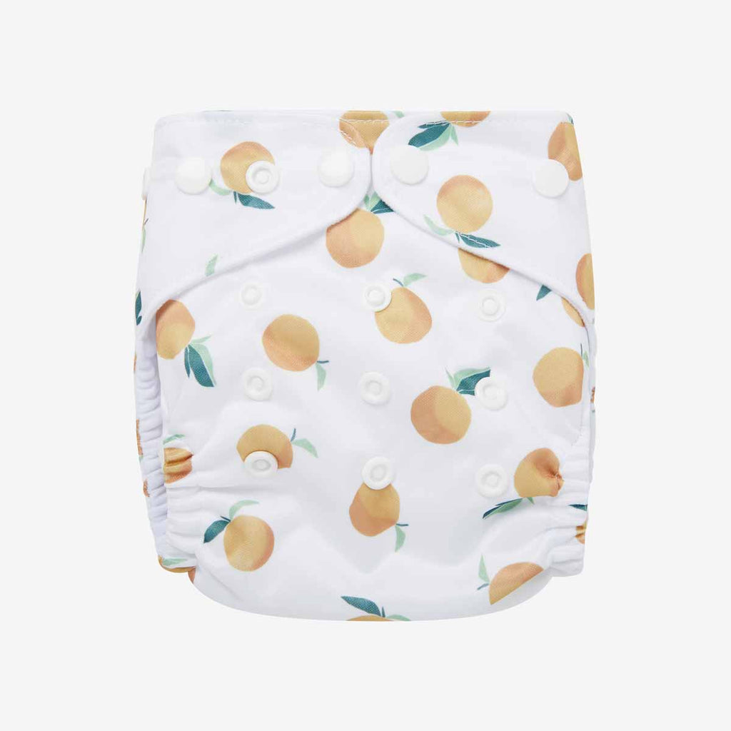 Clementine Reusable Nappy Set
