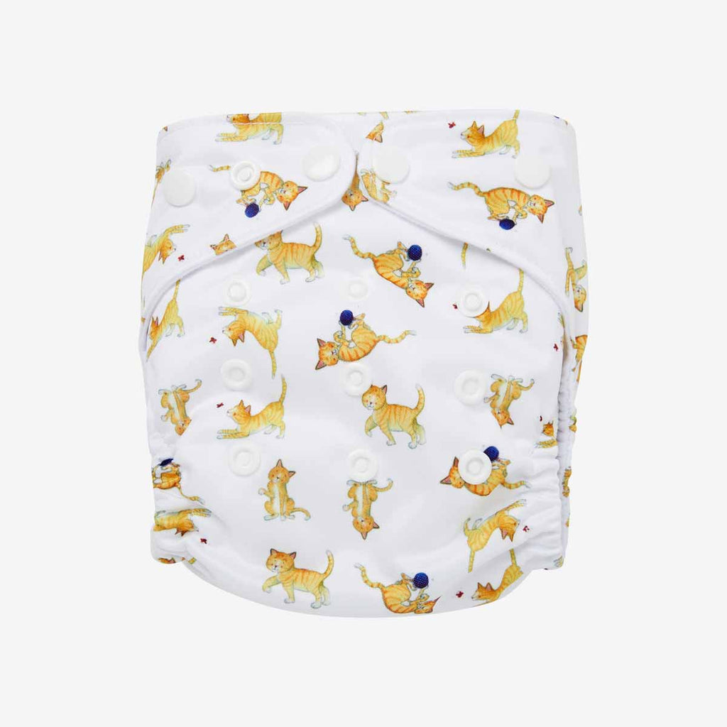 Kittens Reusable Nappy Set