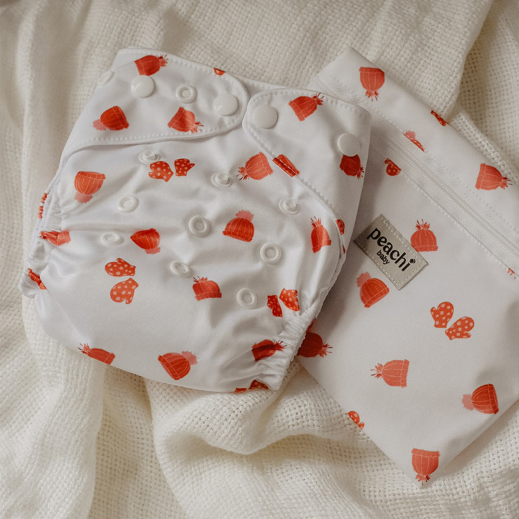 Mittens Reusable Nappy Set