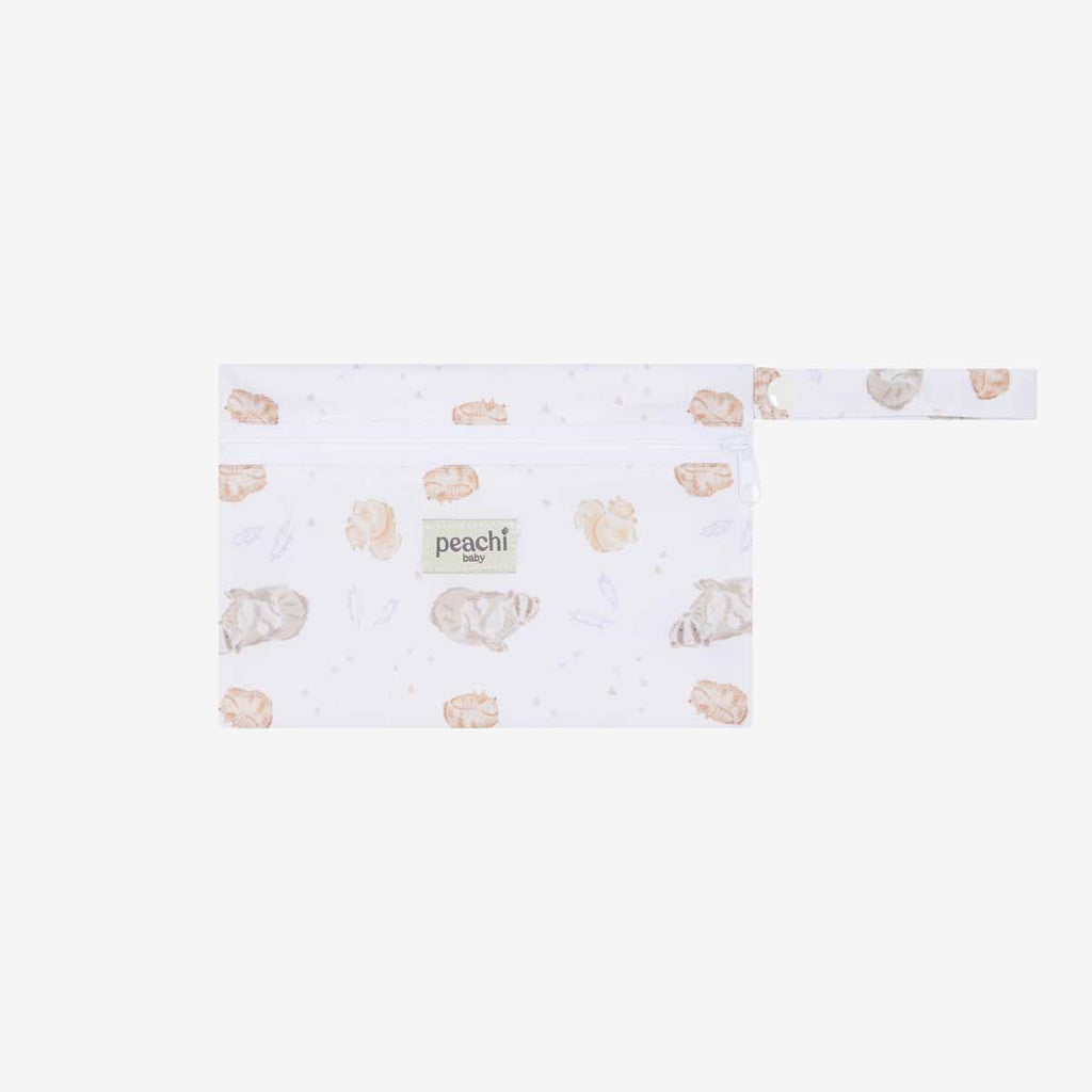 Woodland Creatures Reusable Nappy Bag