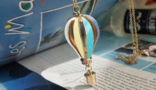Load image into Gallery viewer, Hot Air Balloon Pendant Necklace