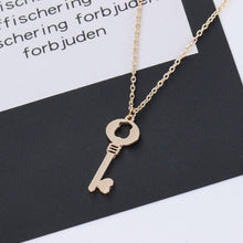 Load image into Gallery viewer, Key Pendant Necklace