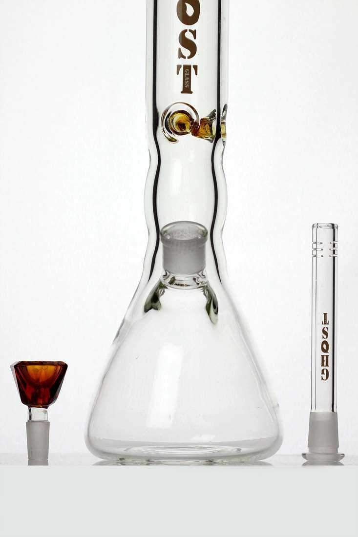14 inches color dot classic beaker water bong - One wholesale Canada