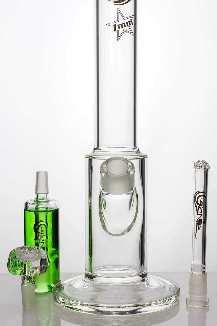 17 inches GENIE thick glass bong with liquid cooling freezer - One wholesale Canada