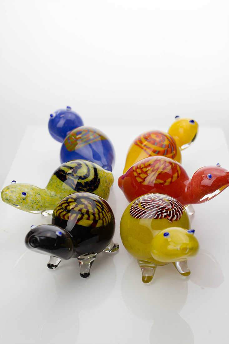 Turtle Soft Glass Hand Pipe - One wholesale Canada