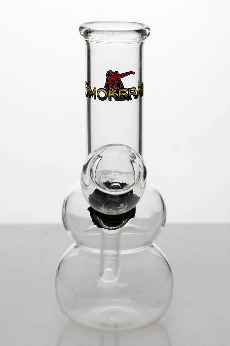 "5"" Clear glass water bong - One wholesale Canada"