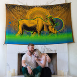 King Moose Tapestry