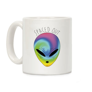 Spaced Out Ceramic Coffee Mug by LookHUMAN