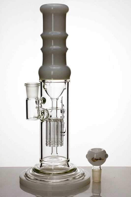 "12"" genie glass 10-arm water recycled bong - One wholesale Canada"
