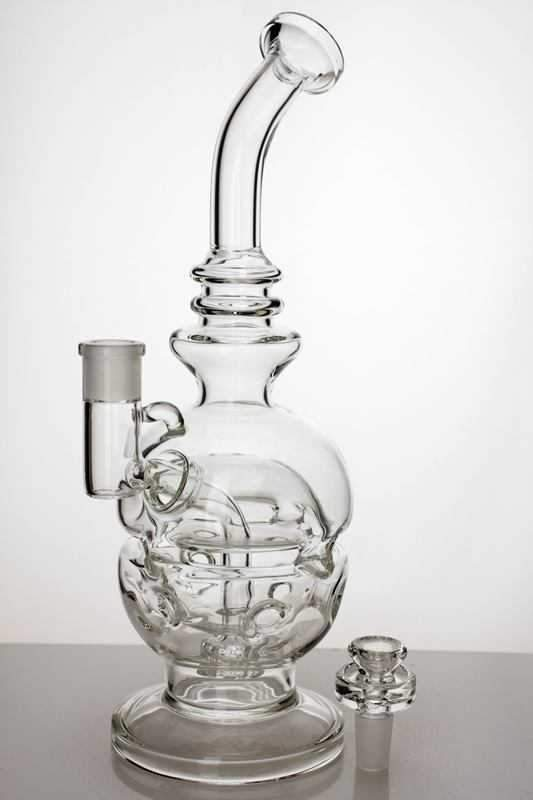 "10"" Recycle bubbler with shower head diffuser - One wholesale Canada"