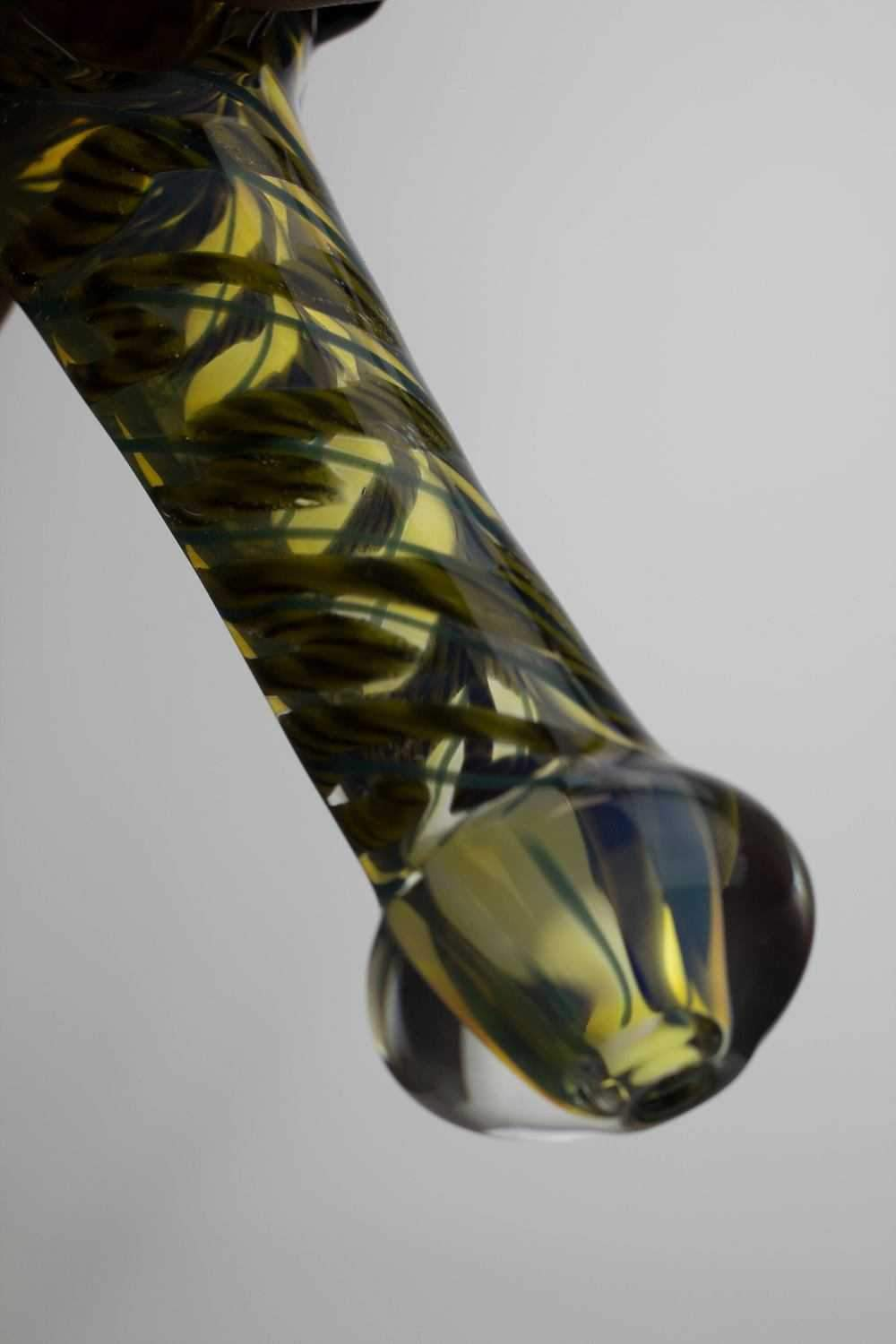 "4.5"" soft glass 3853 hand pipe - One wholesale Canada"