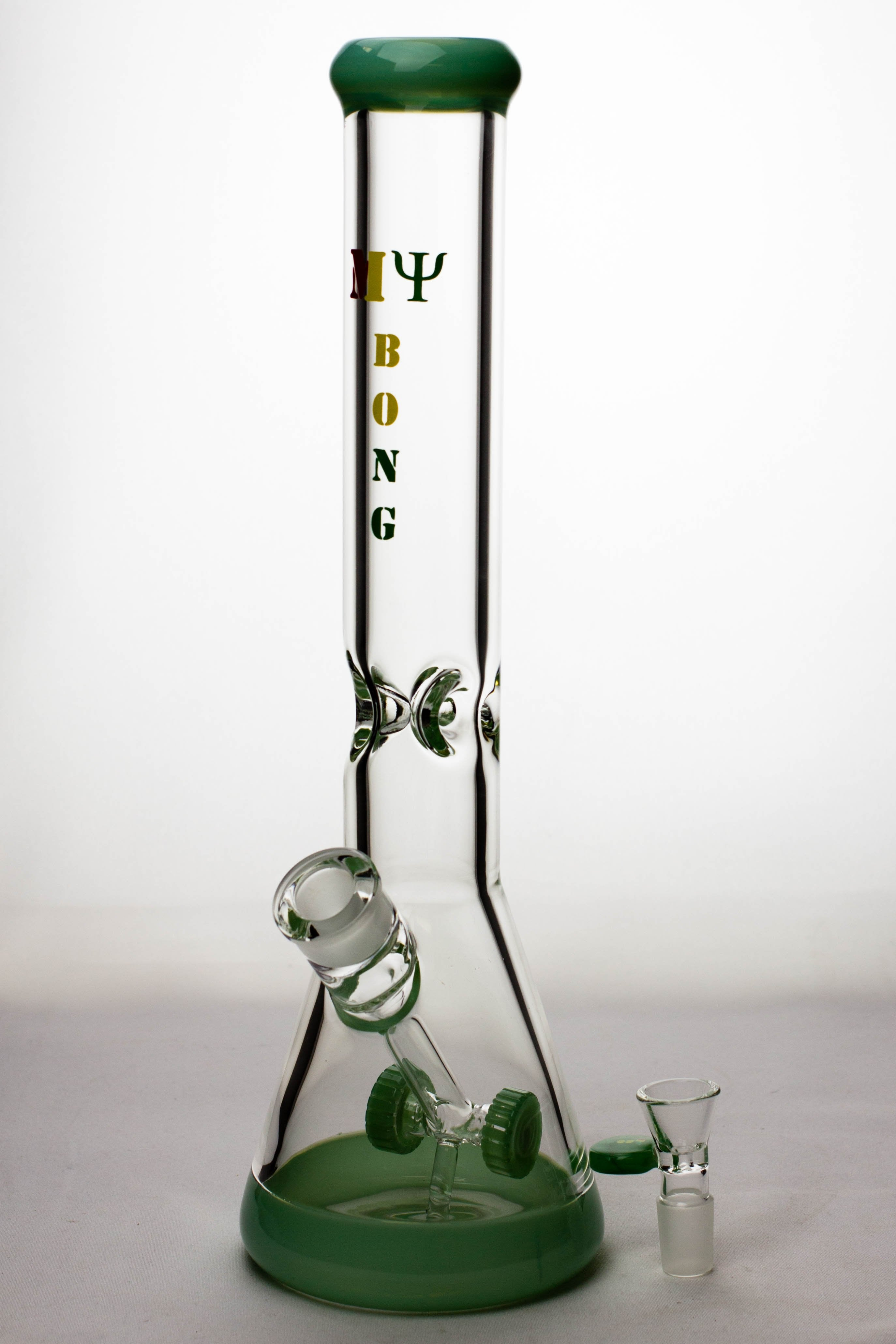 "16"" my bong cannon diffuser glass water bong - One wholesale Canada"