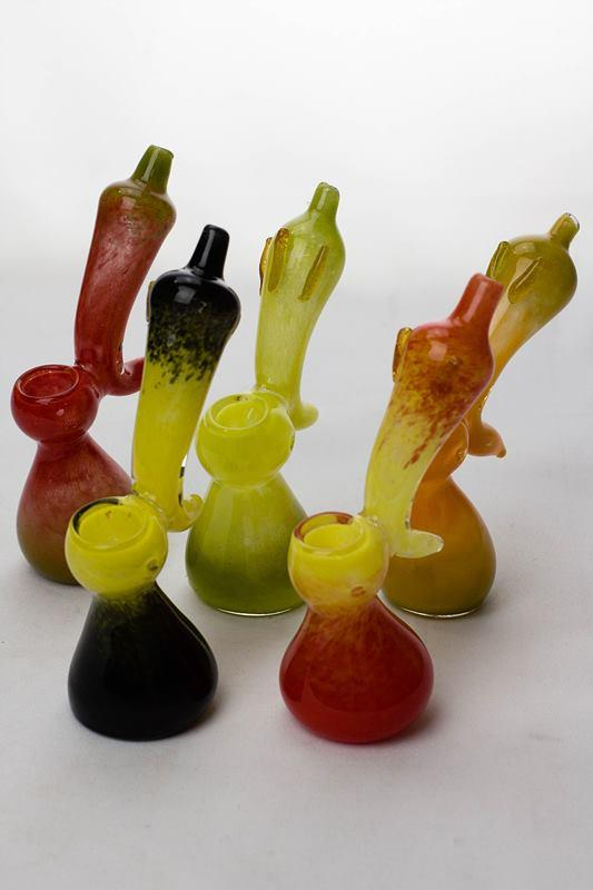 "6"" single chamber pepper bubbler - One wholesale Canada"